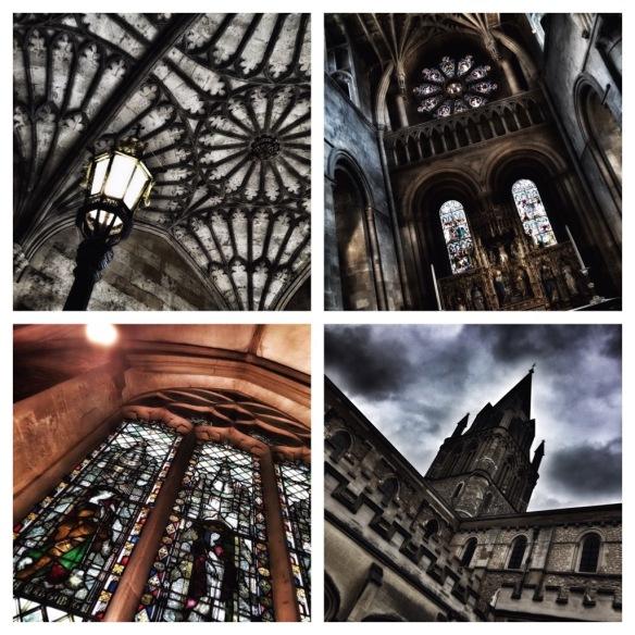 Christ Church Catedral on upea kappeli keskellä yliopiston rakennuksia. (with iPhone6)