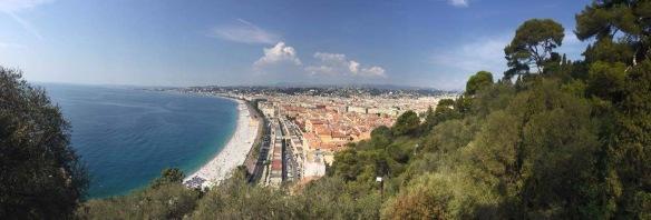 Turistikuvassa Nizza...